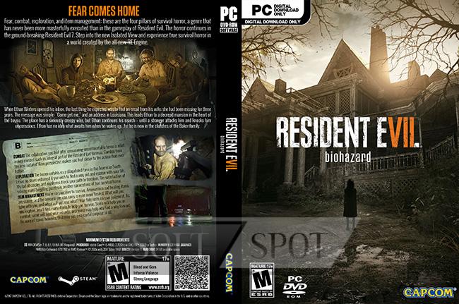 کاور بازی Resident Evil 7