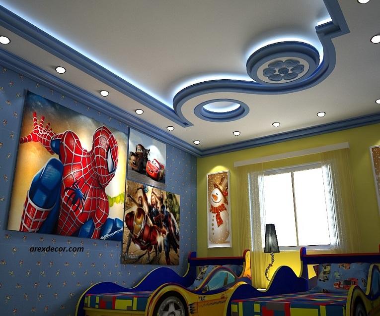 کاغذ دیواری پسرانه- کاغذ دیواری اتاق پسر- دکوراسیون پسرانه- دکوراسیون اتاق پسر