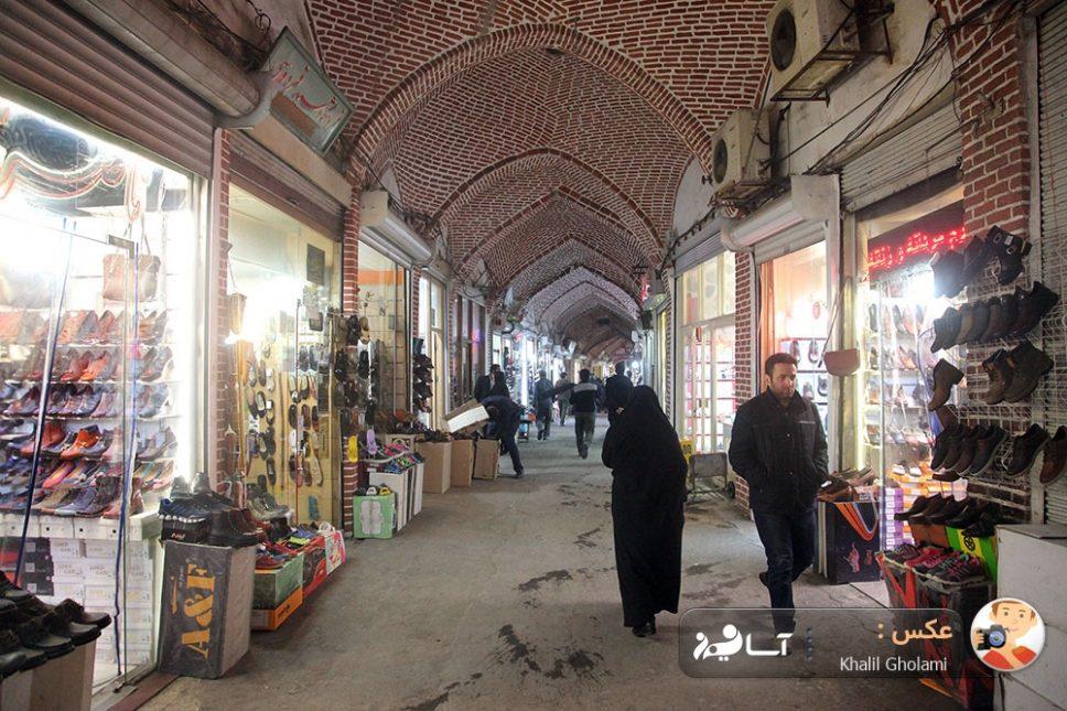 بازار کفش تبریز