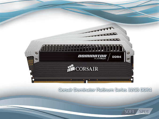 Corsair Dominator Platinum Series 32GB (4 x 8GB) DDR4 3333MHz C16