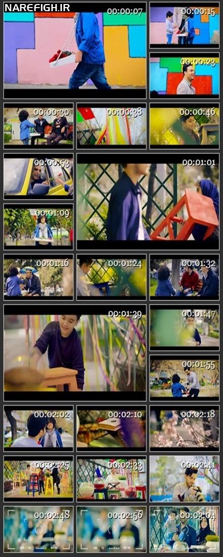 دانلود موزیک ویدیو بوی عیدی از بابک جهانبخش با کیفیت HD