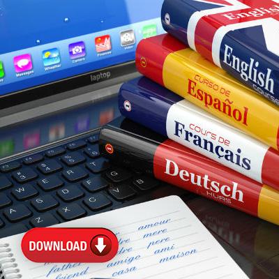 دانلود رایگان محتوای آموزشی زبانهای بینالمللی