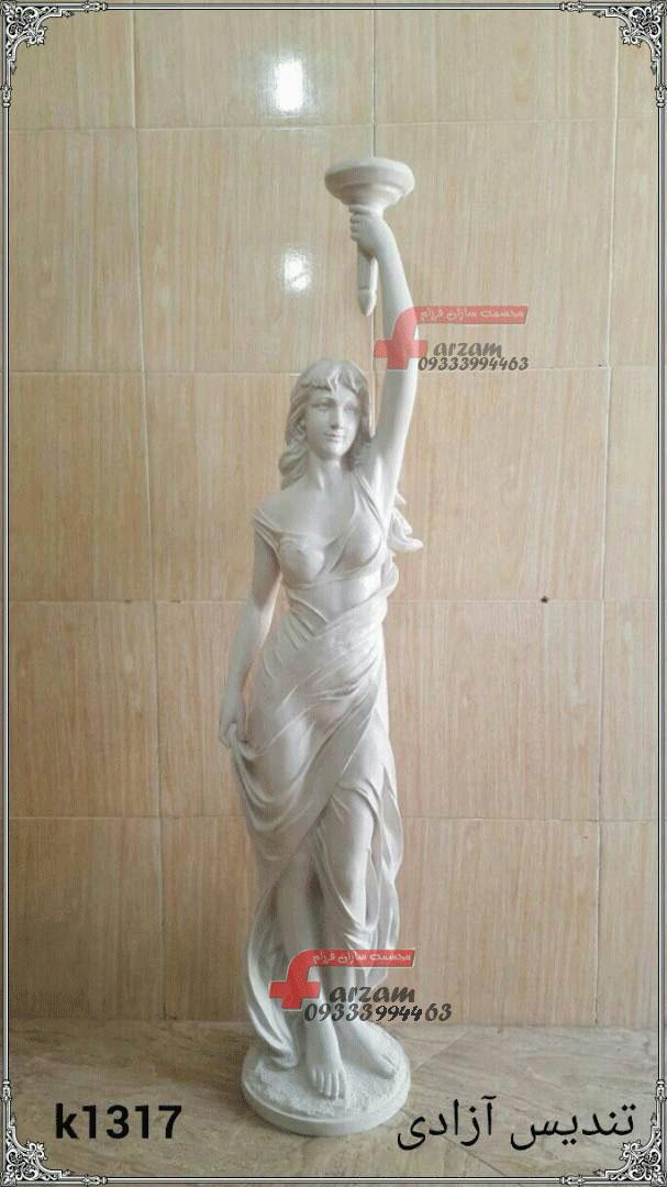 تندیس آزادی مجسمه فایبرگلاس