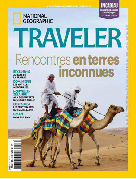 Free Download National Geographic Traveler France – Octobre/Décembre 2019