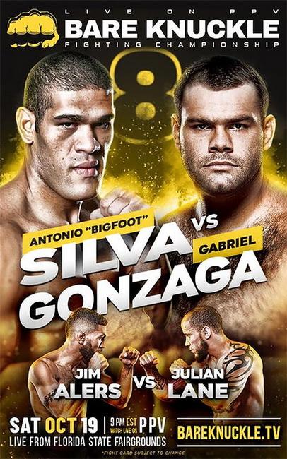 دانلود  رویداد  بوکس :   BKFC 8: Silva vs. Gonzaga+تک مبارزه