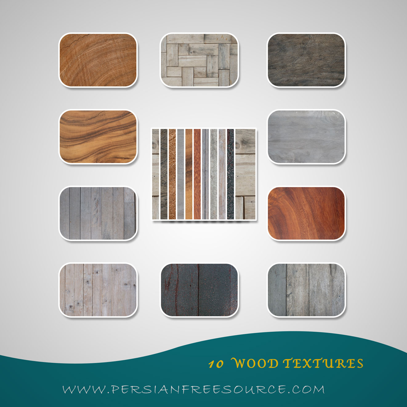 دانلود بافت چوب | Wood Textures Set