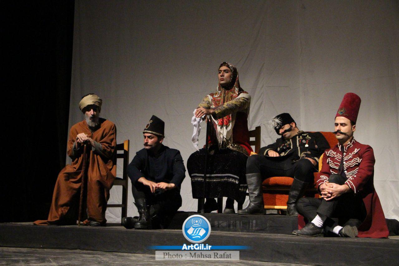 گزارش تصویری از نمایش پری در جشنواره استانی تئاتر گیلان