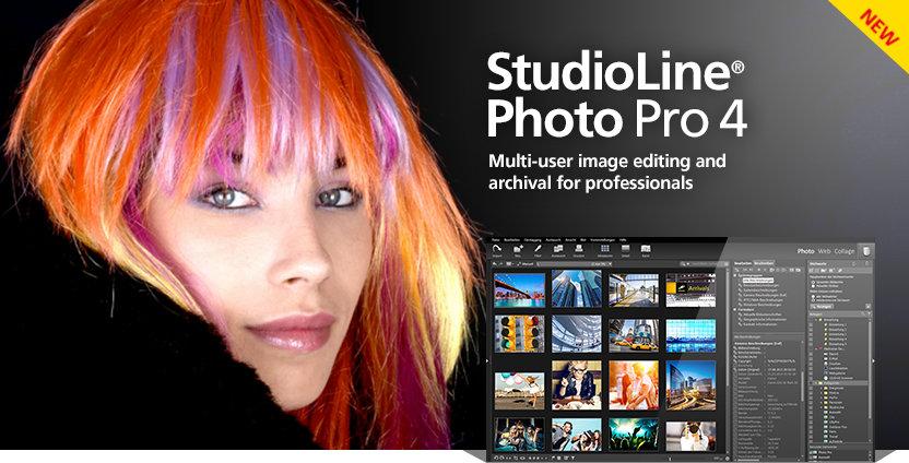 دانلود نرم افزار ادیت عکس StudioLine Photo Pro 4