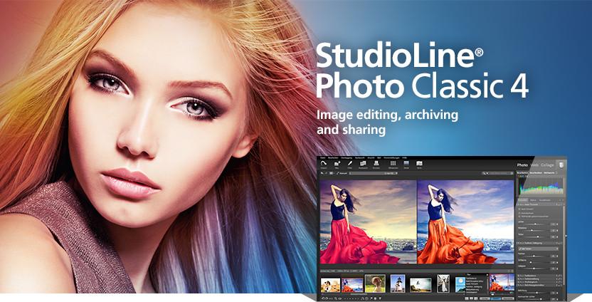 دانلود نرم افزار ادیت عکس StudioLine Photo Classic 4