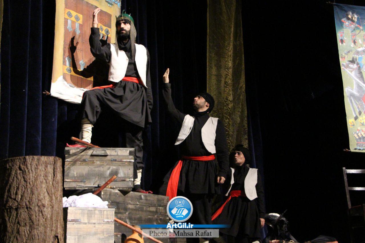نمایش الیور توئیست در جشنواره استانی تئاتر گیلان