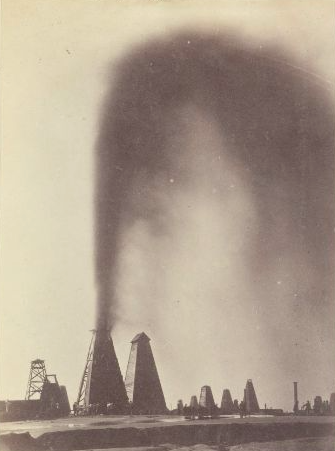چاه نفت در باکو در زمان قاجار - علی خان والی