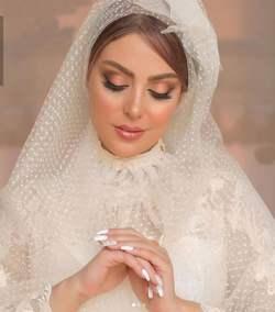 نیلوفر شهیدی در لباس عروسی
