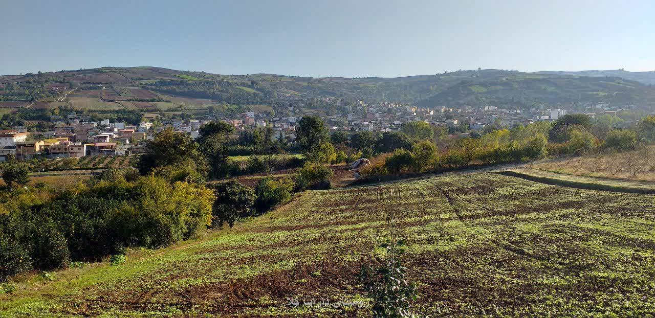 روستای داراب کلا. صبح 16 آبان 1398