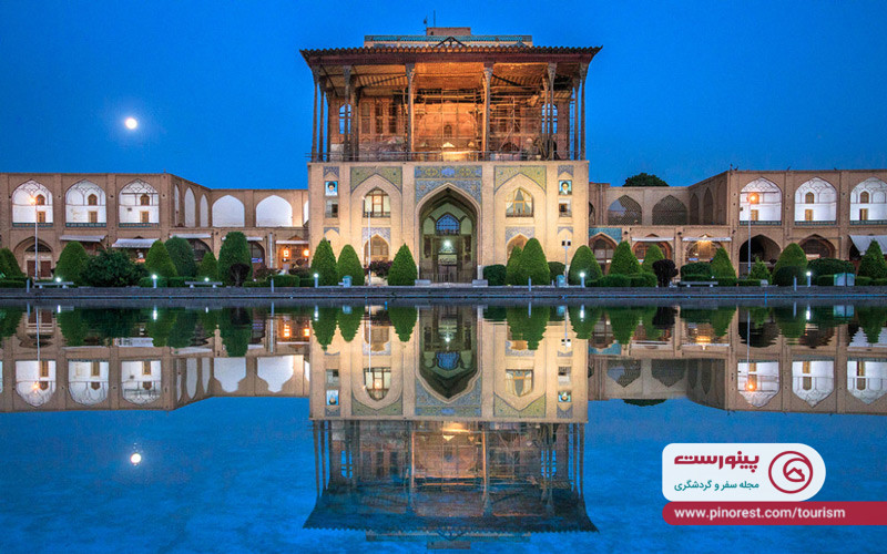 کاخ عالي قاپو اصفهان
