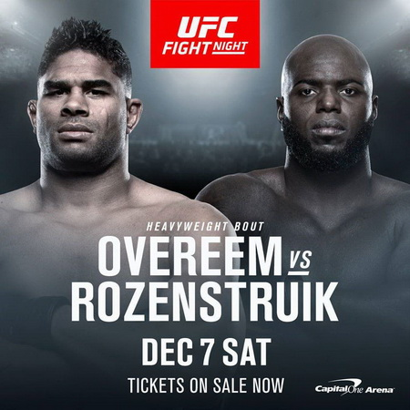 دانلود رویداد یو اف سی :  UFC on ESPN 7 : Overeem vs. Rozenstruik