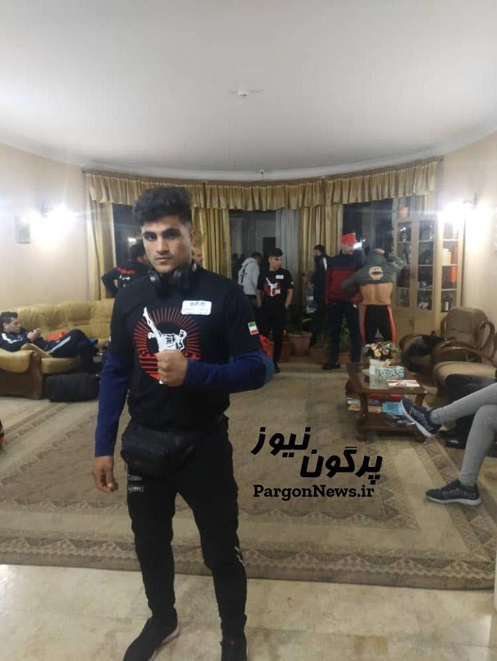 قهرمانی بوکسر امامشهری در مسابقات جهانی گرجستان