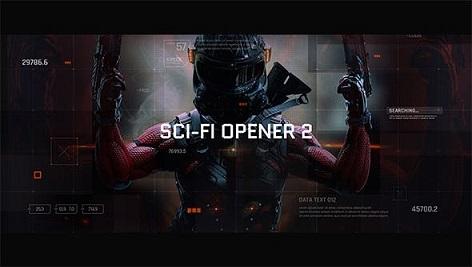 پروژه افتر افکت Videohive Sci-fi hitech HUD Elements