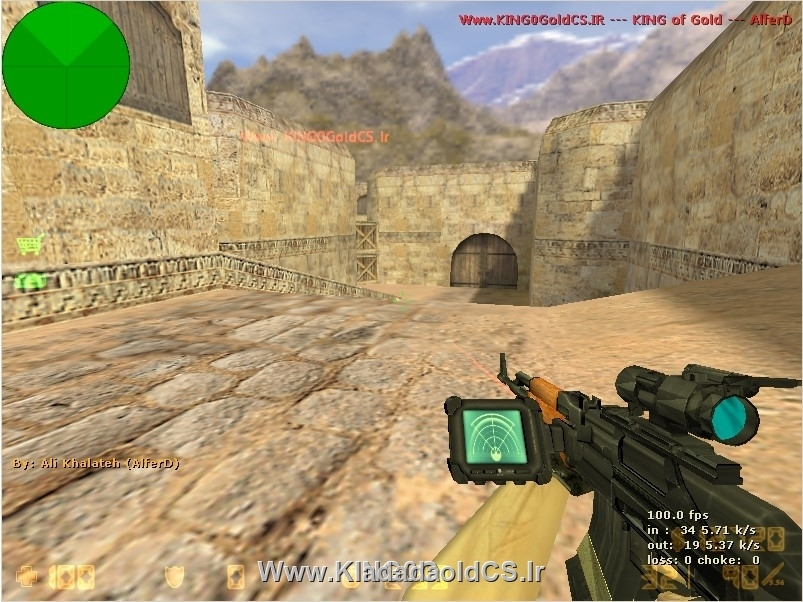 دانلود اسلحه AK-75 برای کانتر استریک 1.6 (جدید)