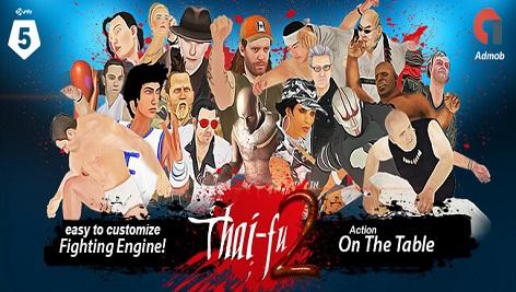 پروژه کامل یونیتی Thai-Fu2: Fighting Game