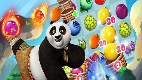 پروژه کامل یونیتی Panda & Fruit Farm – Match 3 complete game