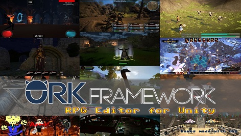 پکیج کامل یونیتی RPG Editor: ORK Framework