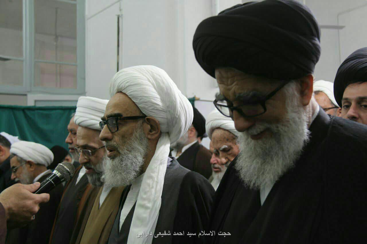 درگذشت همسر حجتالاسلام سید احمدآقا
