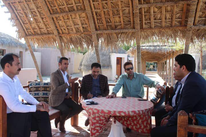 جلسه مشترک آبخیزداری شهرستان قلعه گنج