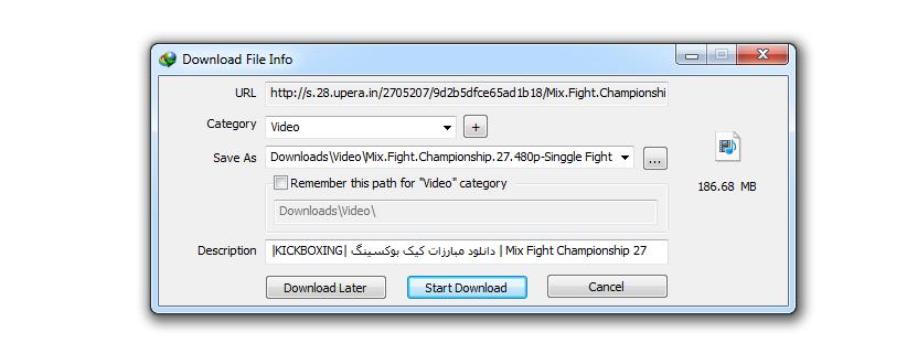 دانلود مبارزات کیک بوکسینگ | Mix Fight Championship 27