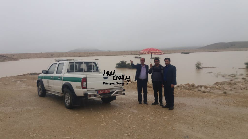 آبگیری ۷۰درصدی بند خاکی تل دراز شهر قیر