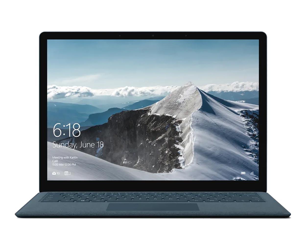 لپ تاپ استوک مایکروسافت مدل Surface Laptop Blue Cobalt