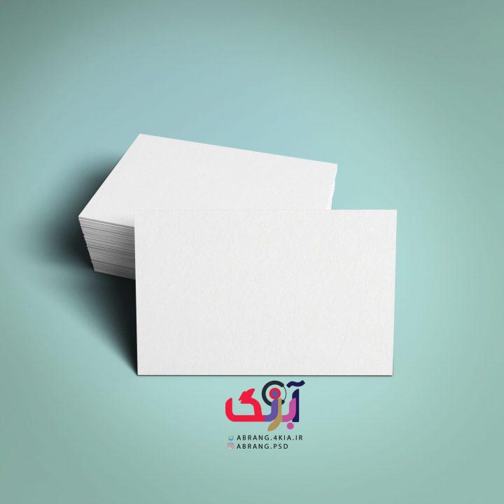 موکاپ کارت ویزیت ( Mockup ) چیست ؟ و چگونگی استفاده آن در فتوشاپ