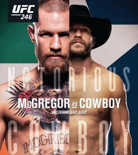 دانلود رویداد یو اف سی  246  :  UFC 246: McGregor vs. Cowboy