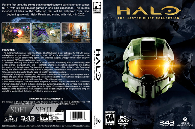 Halo The Master Chief Collection Cover
