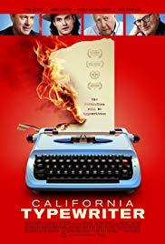 دانلود زیرنویس فارسی فیلم California Typewriter 2016