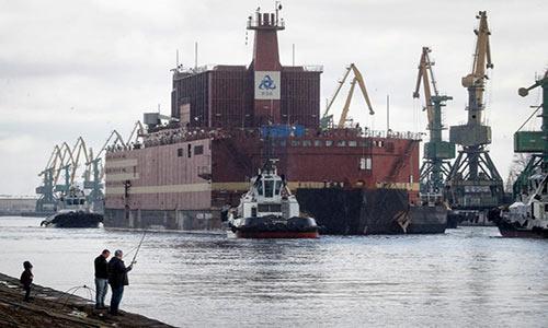 شروع به کار اولین نیروگاه اتمی شناور روسیه
