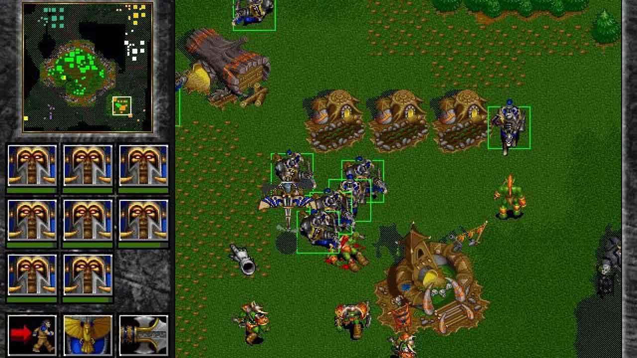 دانلود بازی وارکرافت ۲ (Warcraft II)