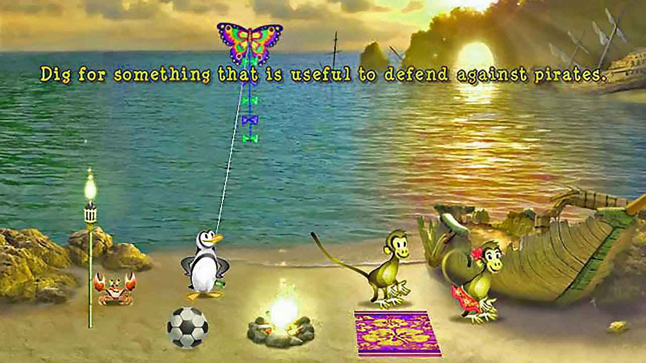 دانلود بازی میمون بازی گوش ۲ (Tropix 2)