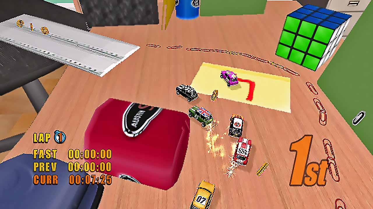 دانلود بازی mini Desktop Racing برای PC