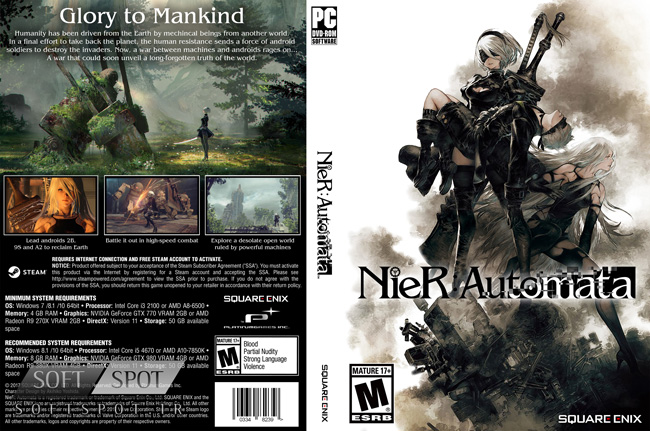 NieR Automata Cover