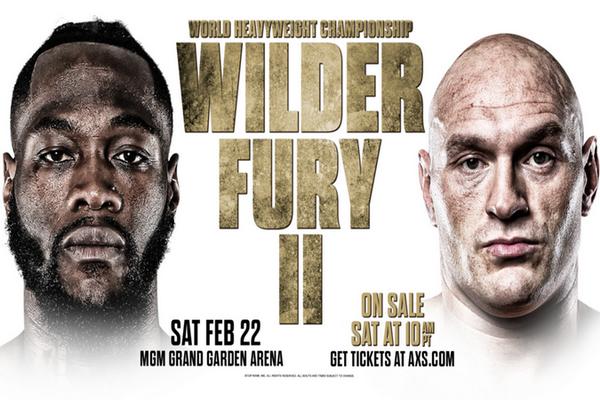 کنرانس خبری زودهنگام فیوری - وایلدر 2 |Deontay Wilder vs. Tyson Fury II press conference