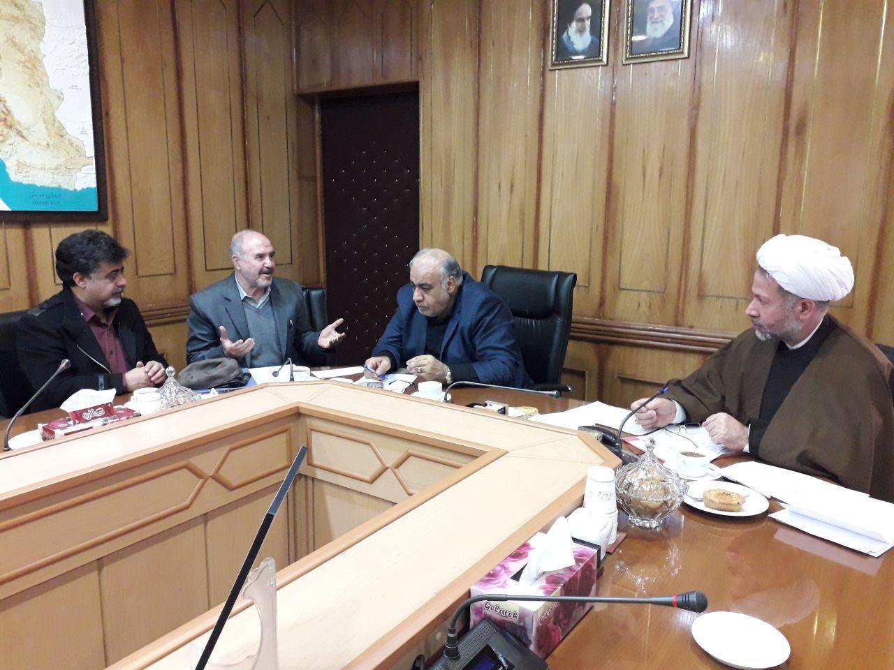 ملاقات مسول شورای عالی بیماران خاص والعلاج با استاندارمحترم کرمانشاه