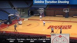 Sideline Transition Shooting Basketball Shooting Drill with Archie Miller