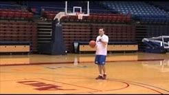 1-2 Step Shooting drill using the Gun basketball shooting machine