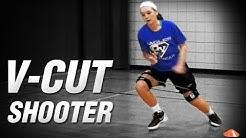 Kbands V Cut - Basketball Shooting Drills - Basketball Leg Resistance Bands