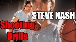 Steve Nash Basketball Shooting Drills