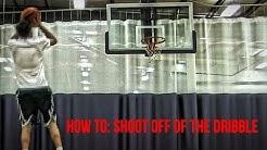 Basketball Shooting Drills - Improve Your Shooting Off The Dribble!