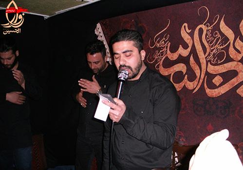 مداحی کربلائی محمدحسین آخوندی در حسینیه شهیدمحمدعلی دولت آبادی