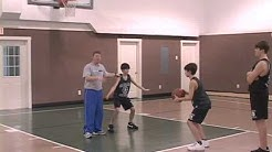 Youth Basketball Warmup Drills- Box Out Competition