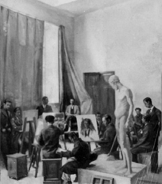 کلاس نقاشی