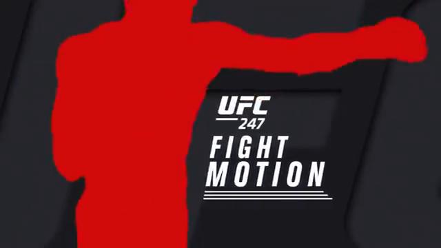 مبارزات به صورت اهسته شده: UFC 247 Fight Motion